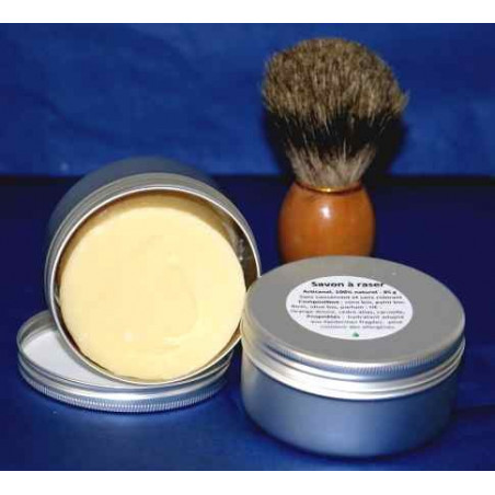 Blaireau de rasage (base blanche)