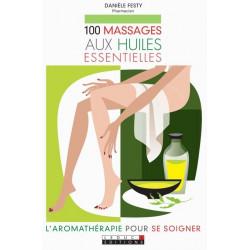 100 massages aux  huiles essentielles