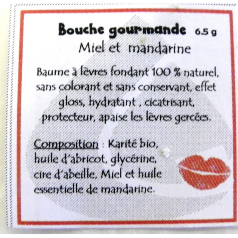 """Baume à lèvres """"bouche framboise"""""""