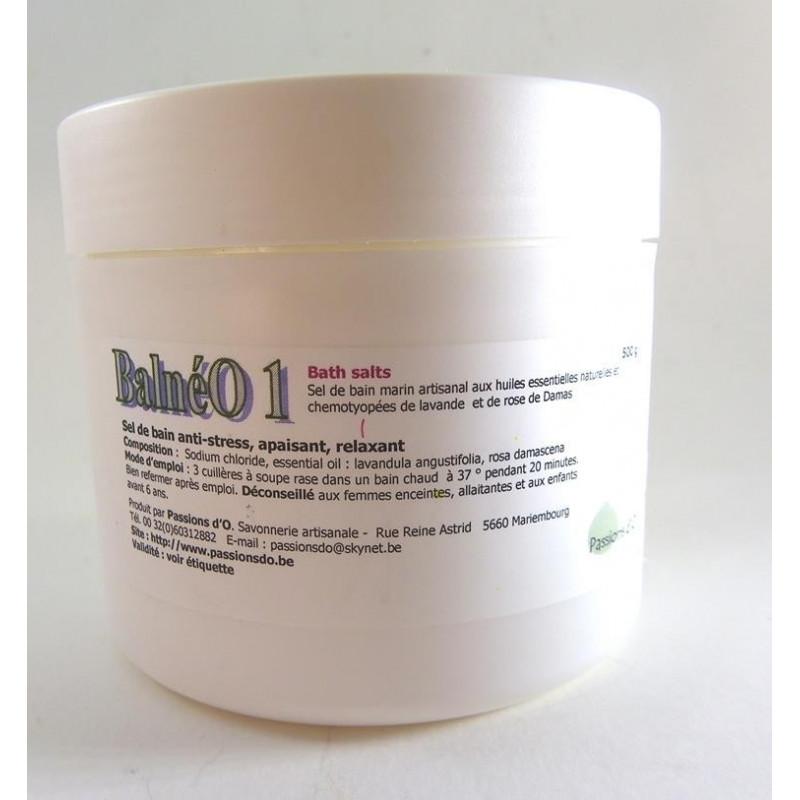 Sel de bain Balnéo1   500 g