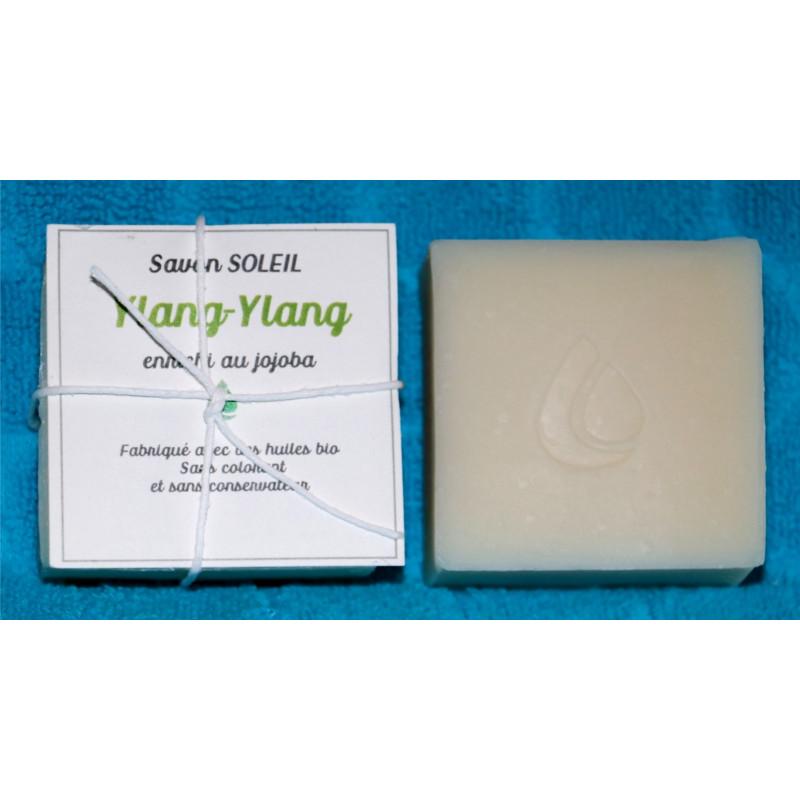 Savon naturel, parfumé Ylang-ylang