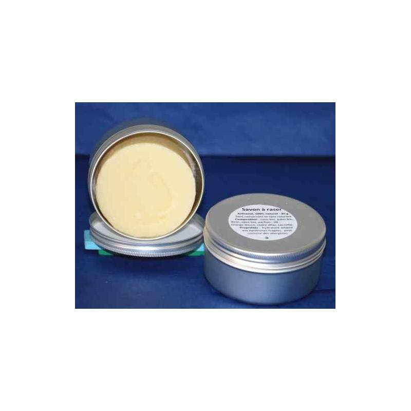 Scheerzeep te gebruiken met en scheerkwast - 100 g