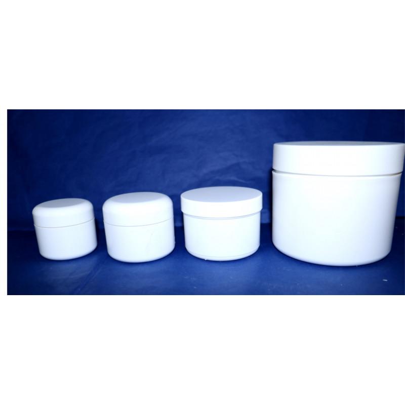 Lege cosmetische potten