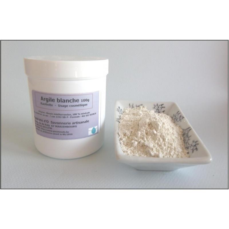 Argile blanche kaolin superfine en poudre