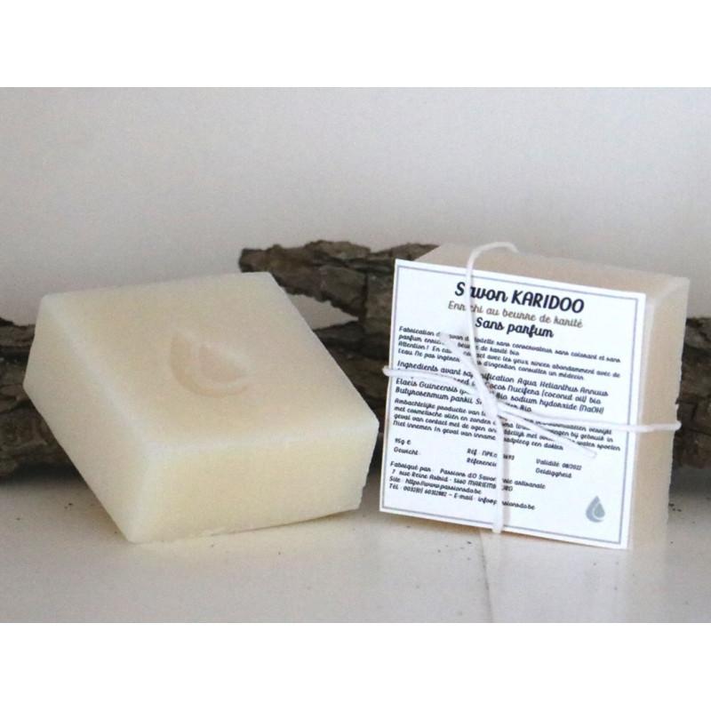 Savon au beurre de karité sans parfum