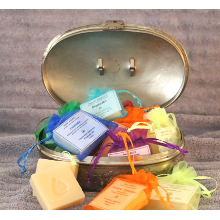 savons parfumés 25 g fabrication artisanale