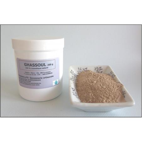 Argile Ghassoul  Maroc en poudre