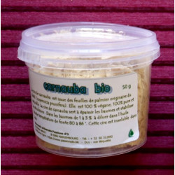 Vegan carnauba wax