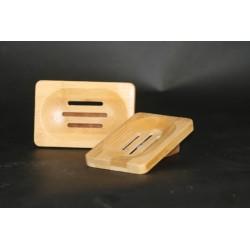 Porte-savon en bambou 8 x12cm