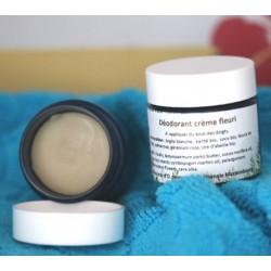 déodorant crème parfum fleuri
