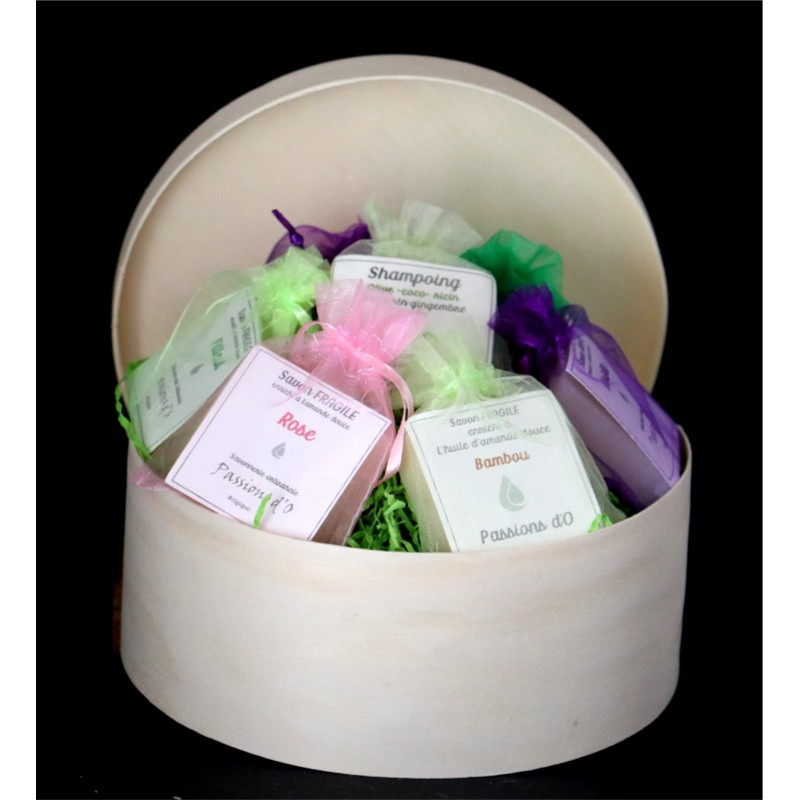 Soap - Round discovery box