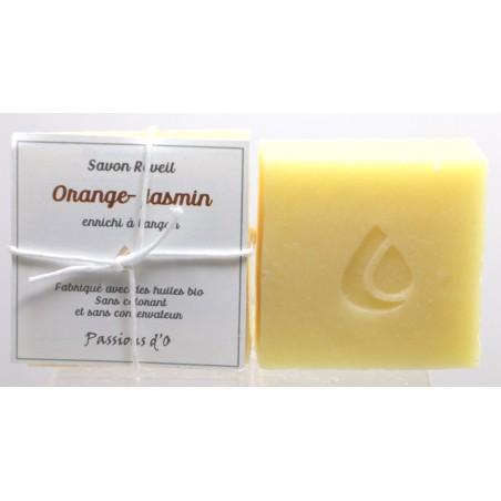 Savon Réveil orange - absolue de jasmin