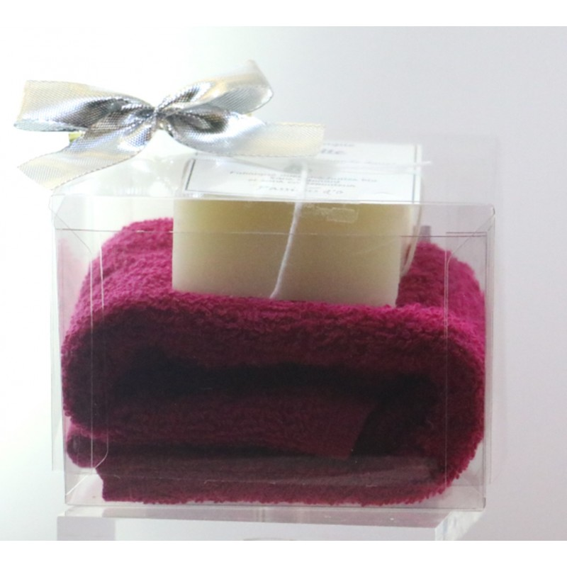 copy of Transparent box towel and soap