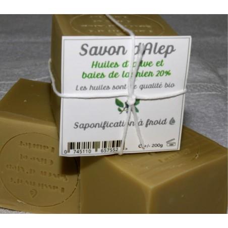 savon d'Alep 20 %