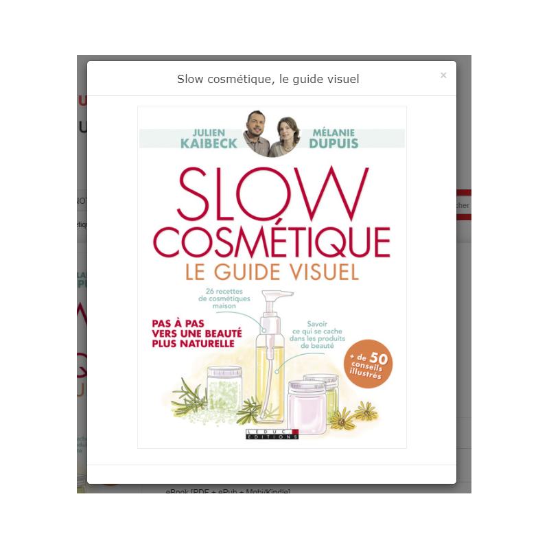 La slow cosmétique de Julien Kaibeck